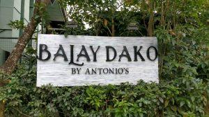 Balay Dako, Tagaytay